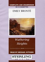Wuthering Heights audio cover