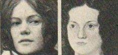 Vickery Turner (l) and Charlotte Brontë (r)