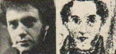 Michael Kitchen (l) and Branwell Brontë (r)