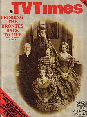 The Brontës - TV Times cover