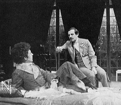...but whatever resonance Wilde's story has for a modern audience is missed in his unadventurous and disappointing adaptation: Dorian and Lord Henry (Anton Rodgers) continue in more relaxed circumstances. - Plays and Players